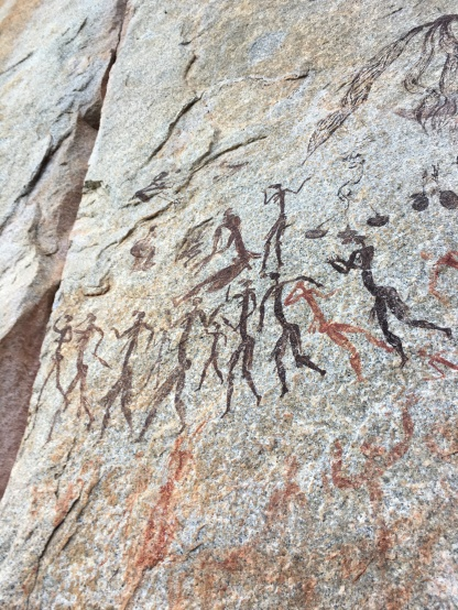 Bushman rock paintings